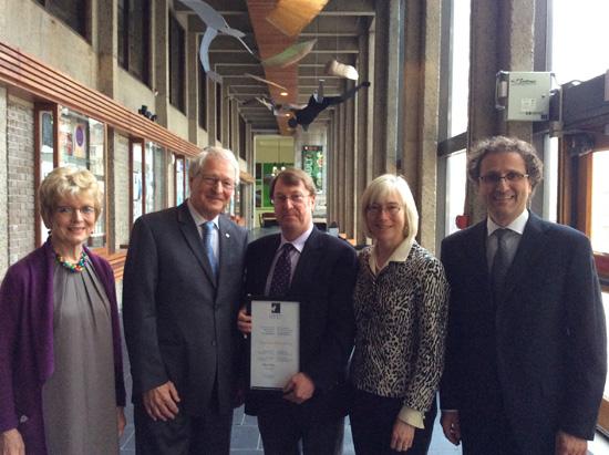 Jonathan Edmondson is this year's recipient of the Award of Merit by the Classical Association of Canada/ Société des Études Classiques