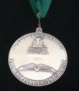 Speakers Book Award Finalist 2015