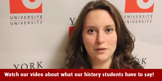 Watch our video about what our history students have to say!