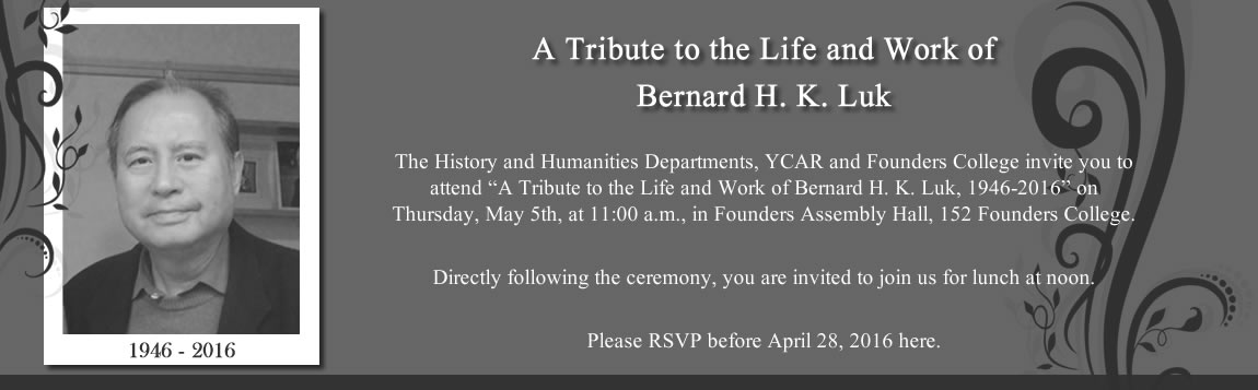 A Tribute to the Life and Work of Bernard H. K. Luk