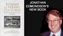Jonathan Edmondson's New Book Roman Literary Cultures