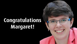 Congratulations to Margaret Schotte