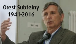 Orest Subtelny: 1941-2016