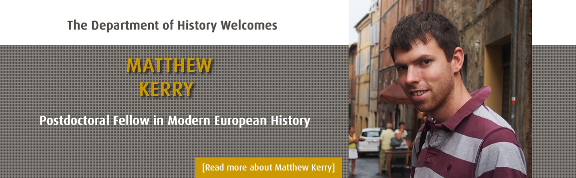 Welcome Matthew Kerry