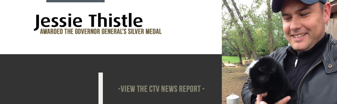 Jesse Thistle Awarded the Governor General's Silver Medal