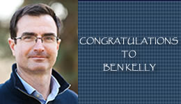Congratulations to Ben Kelly