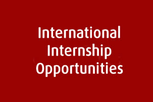 International Internship Opportunities