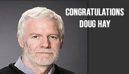Congratulations Doug Hay