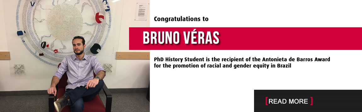 Congratulations to Bruno Veras