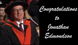 Congratulations to Jonathan Edmondson