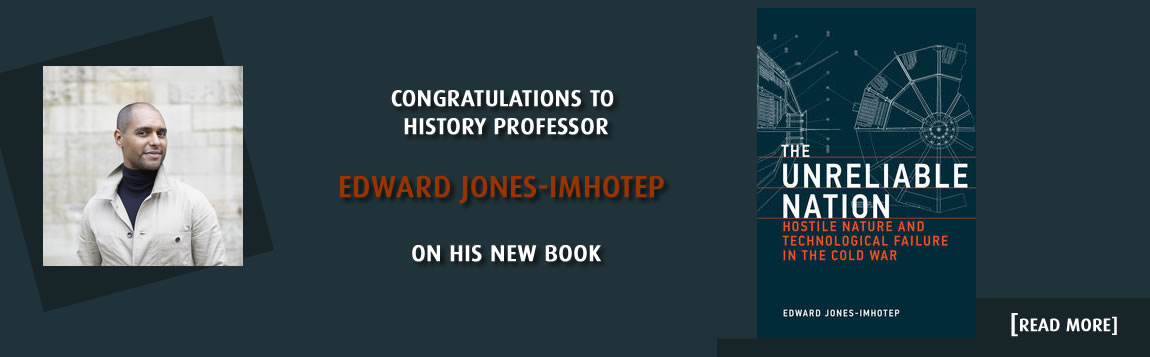 Congratulations to Edward Jones-Imhotep on his new book