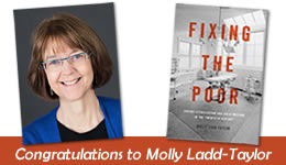 Congratulations to Molly Ladd-Taylor