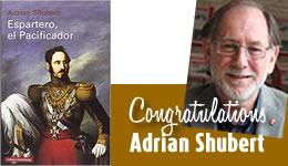 Congratulations Adrian Shubert
