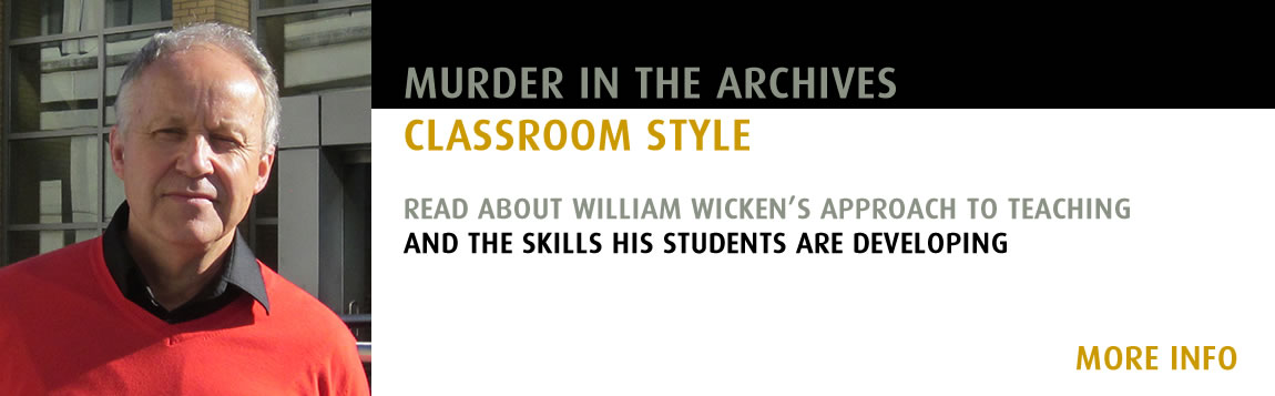 Murder in the Archives - Classroom Style