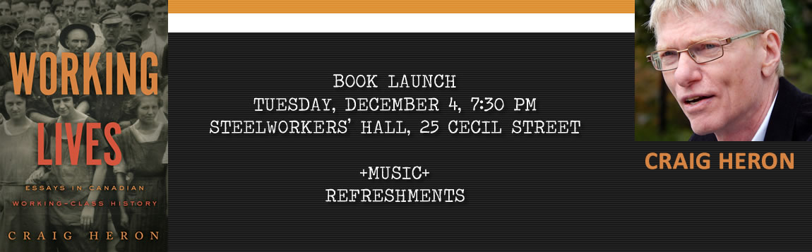 Working Lives Book Launch