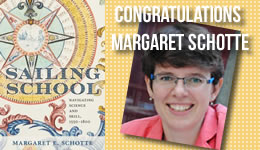 Congratulations Margaret Schotte