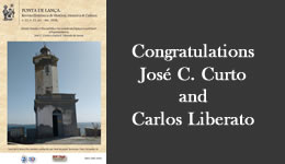 Congratulations José C. Curto and Carlos Liberato