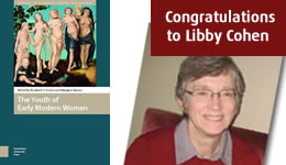 Congratulations to Libby Cohen