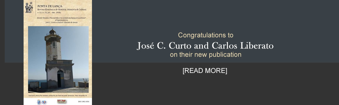 Congratulations José C. Curto and Carlos Liberato on your new publication