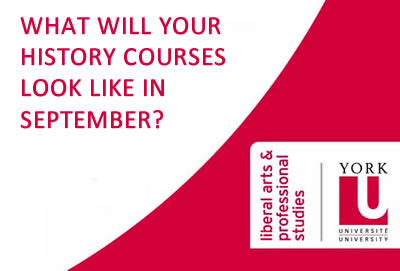 What will your History courses look like in September?