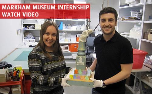Markham Museum Internship