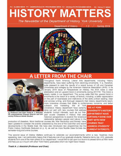 History Matters Newsletter - Issue #2