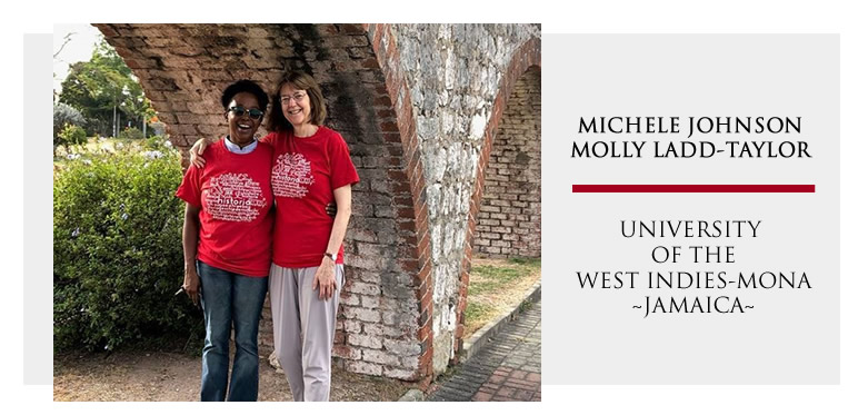 Michele Johnson and Molly Ladd-Taylor