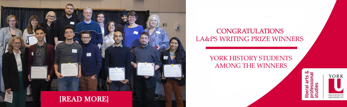 Congratulations Writing Prize Winners