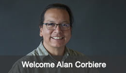 Welcome Alan Corbiere