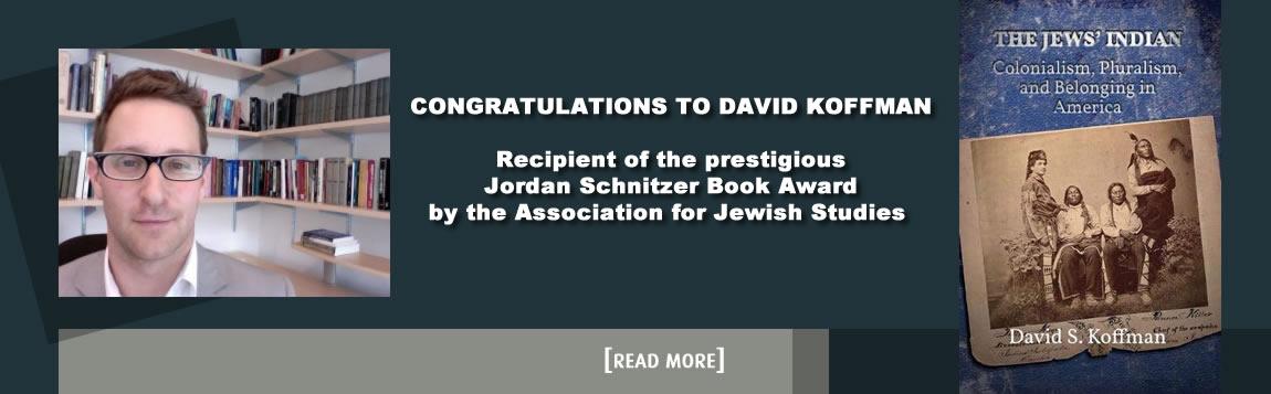 Congratulations to David Koffman